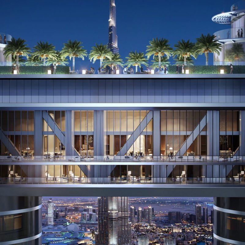 The Address Residences in Downtown Dubai