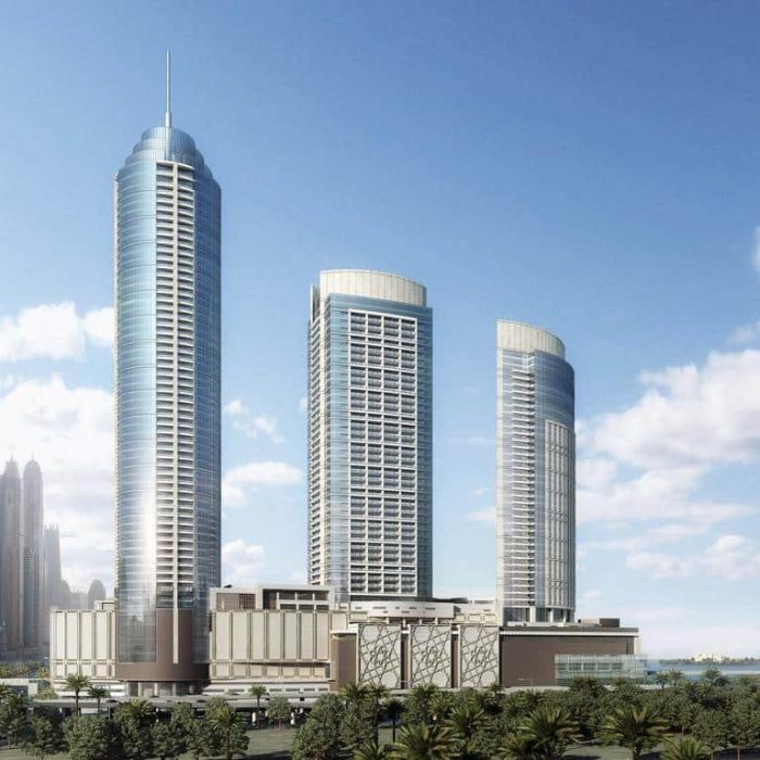 The Palm Gateway by Nakheel in Palm Jumeirah. Premium apartments for Sale in Dubai 1