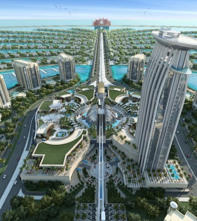 The Palm Plots by Nakheel in Palm Jumeirah. Premium plots for Sale in Dubai 5
