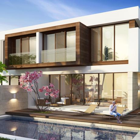 The Park Villas by Damac at Damac Hills. Luxury apartments for Sale TH-L