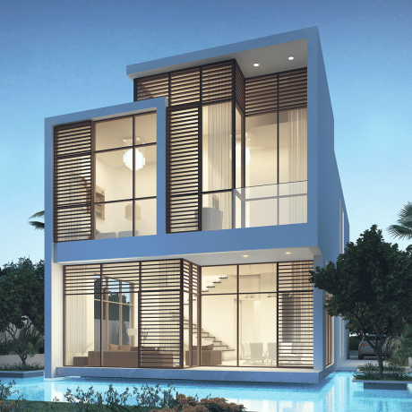 The Park Villas by Damac at Damac Hills. Luxury apartments for Sale V-2