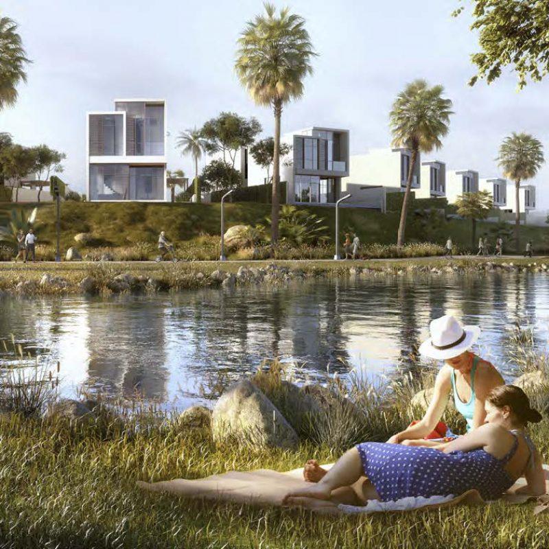 The Park Villas by Damac at Damac Hills. Luxury apartments for Sale_2222