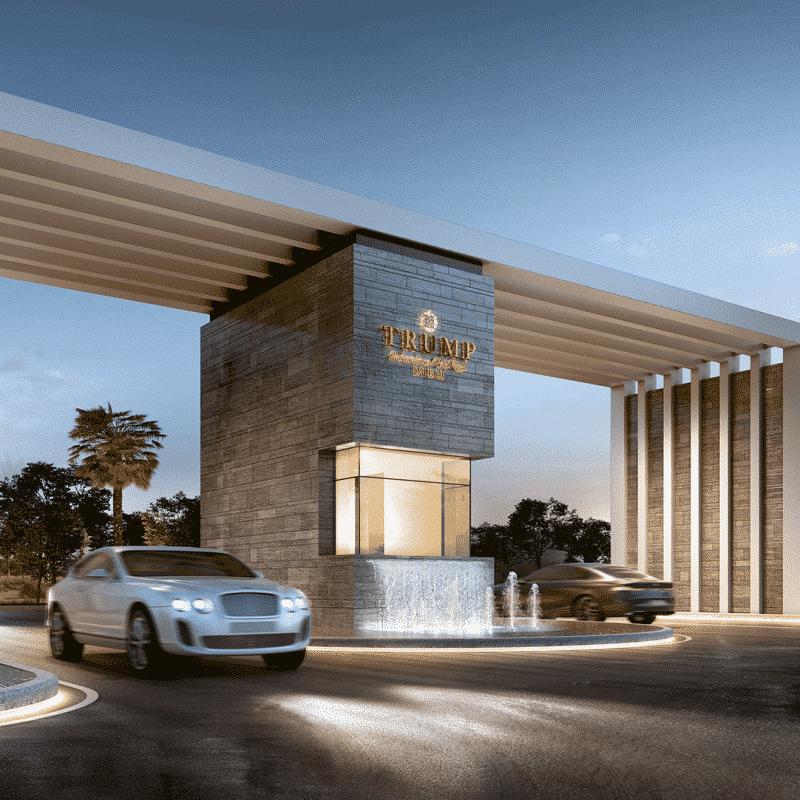 The Trump Estates в Damac Hills от Damac. Продажа премиум недвижимости в Дубае