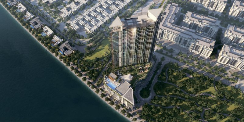 The-Waves-by-Sobha-at-Waterfront-District-in-Sobha-Hartland---MBR-City.-Premium-1-&-2-bedroom-apartments-for-sale-in-Dubai