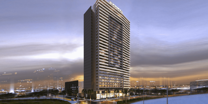 Tower 108 by Damac at Jumeirah Village Circle. Luxury apartments for Sale in Dubai