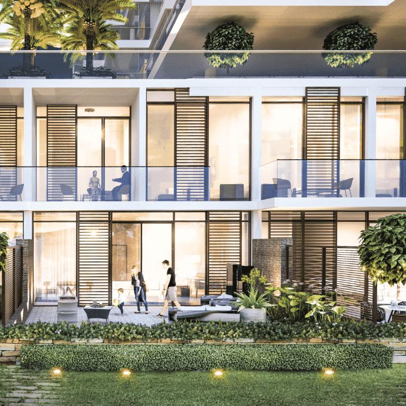 Townhouses on The Golf & The Park в Damac Hills от Damac Properties. Продажа недвижимости премиум-класса в Дубае