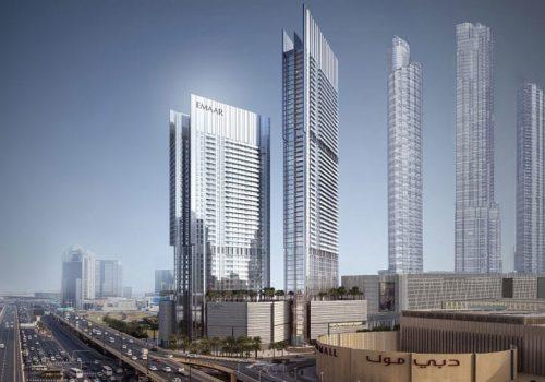 Vida Residences Dubai Mall by Emaar at Downtown Dubai. Luxury apartments for sale in Dubai_5