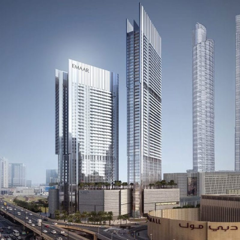 Vida Residences Dubai Mall by Emaar at Downtown Dubai. Luxury apartments for sale in Dubai