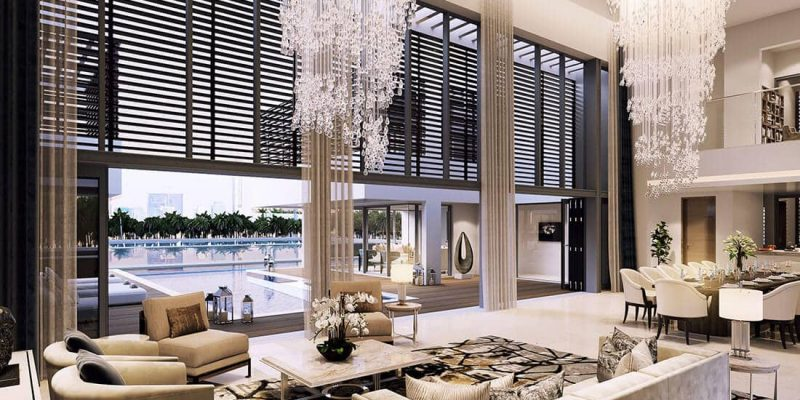 Water Canal Villas by Sobha in MBR City Sobha Hartland. Luxury apartments for sale in Dubai_2