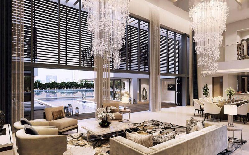 Water Canal Villas by Sobha in MBR City Sobha Hartland. Luxury apartments for sale in Dubai
