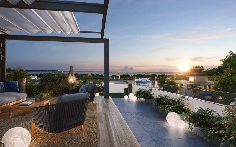 Water Canal Villas by Sobha in MBR City Sobha Hartland. Luxury apartments for sale in Dubai_5