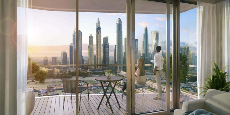 EMAAR South Beach at Emaar Beachfront. Dubai Harbour.