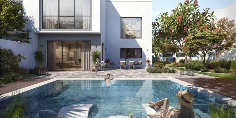 Yas Acres The Magnolias on Yas Island by Aldar. Premium townhouses and villas for sale in Abu Dhabi 2 1