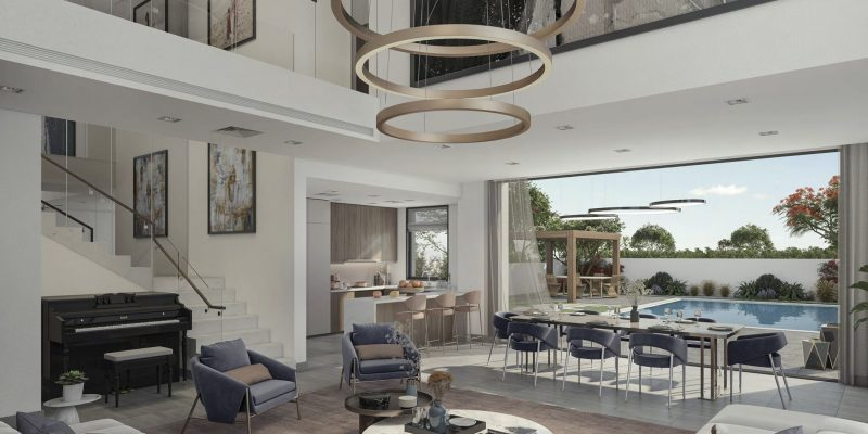Yas Acres The Magnolias on Yas Island by Aldar. Premium townhouses and villas for sale in Abu Dhabi 3 3