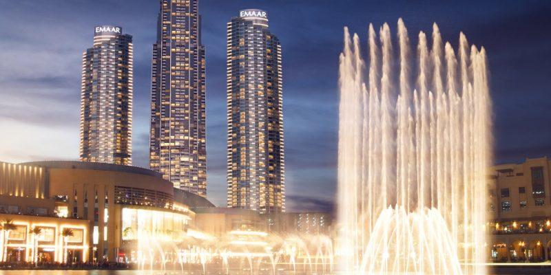 The Address Residence in Downtown Dubai by EMAAR, Dubai.