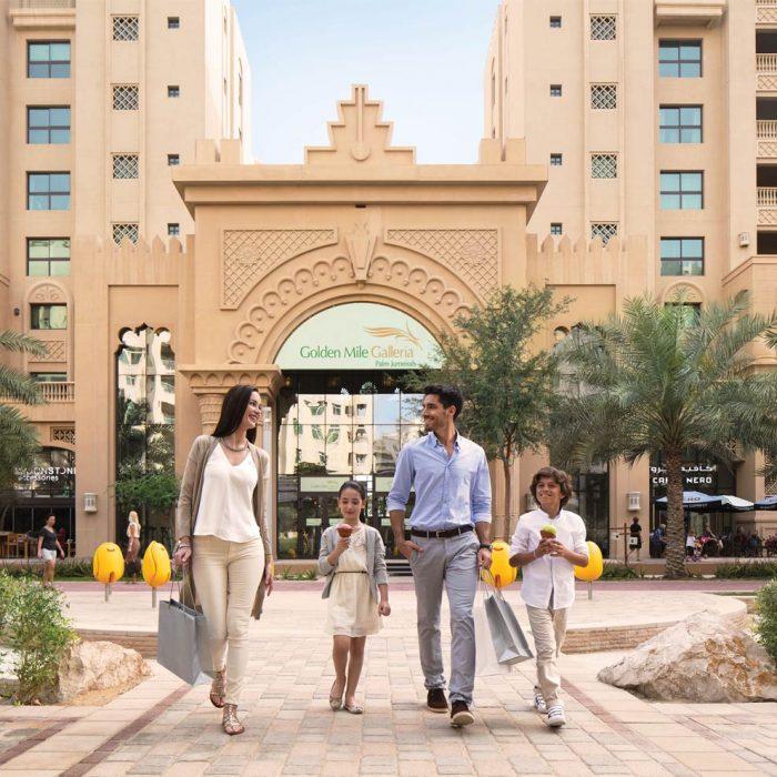 Golden Mile by IFA in Palm Jumeirah, Dubai.