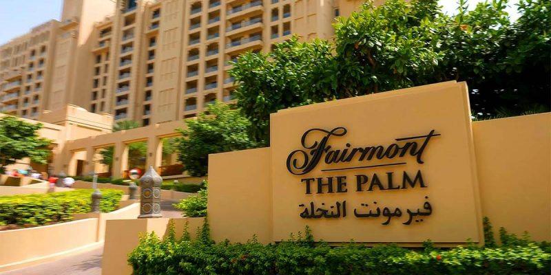 Fairmont The Palm by IFA in Palm Jumeirah, Dubai.