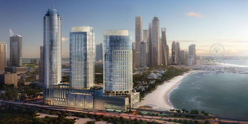 The Palm Gateway by Nakheel in Palm Jumeirah, Dubai.