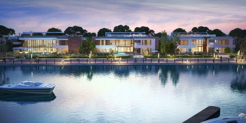 Water Canal Villas at SOBHA HARTLAND at MBR City - Sobha Hartland for Sale in Dubai